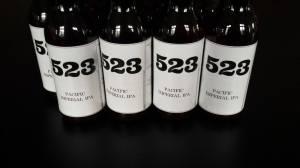 Les bières de la très prometteuse brasserie 523