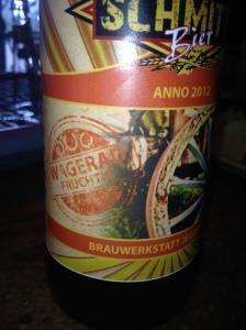 Schmitte Bier Wagerad von Brauwerkstatt Jegenstorf